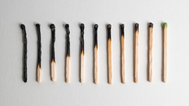 burnout, burn-out, depressie