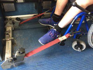 Gurt für Rollstuhl