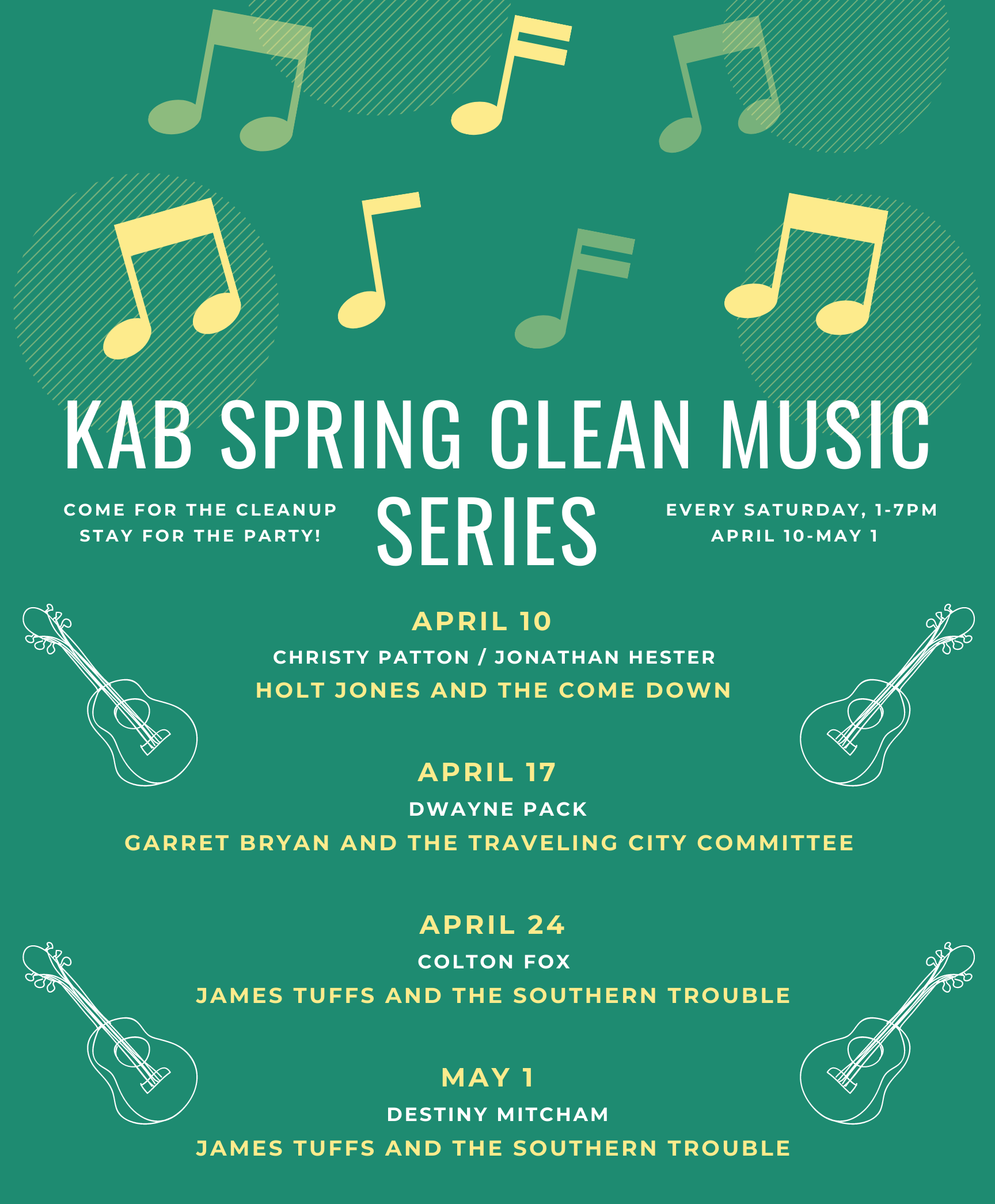 Spring Clean Event
