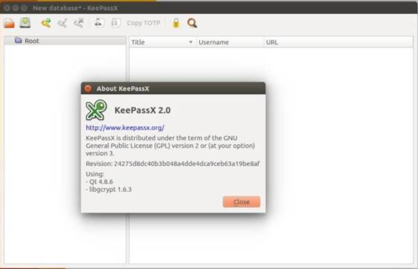 keepass sous linux