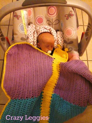 http://www.ravelry.com/patterns/library/butterfly-dreams-car-seat--swaddle-blanket