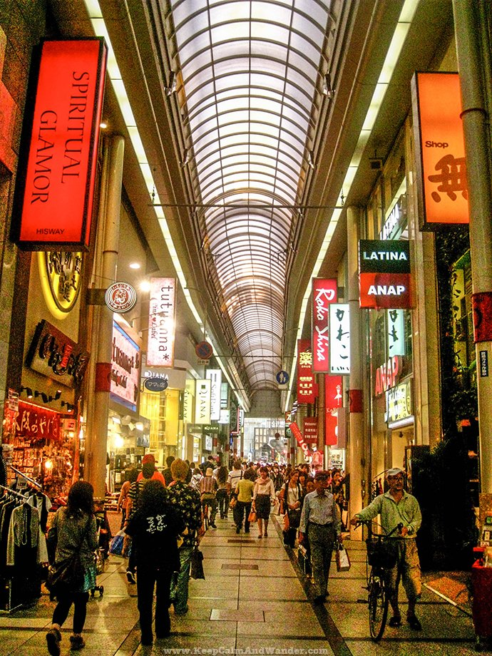 Dotonbori Namba is the heartbeat of Osaka, Japan.