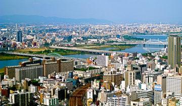 Osaka Skyline from Umeda Sky Building