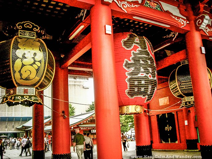 Senso-ji Temple is a Buddhist Temple in Tokyo, Japan.