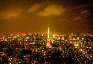 Tokyo by night looks like Paris.