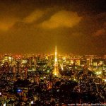 Tokyo By Night Looks Like Paris