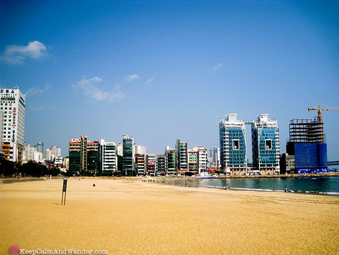Beaches in Busan - Hyundai Beach.