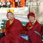 The Monks at Lama Temple