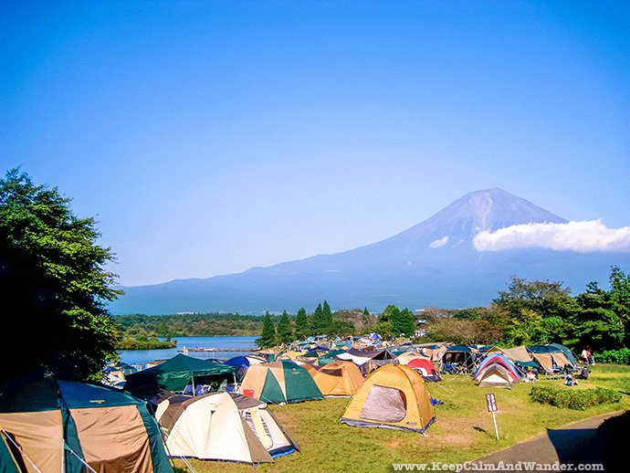 Mt. Fuji is Japan's highest mountain.