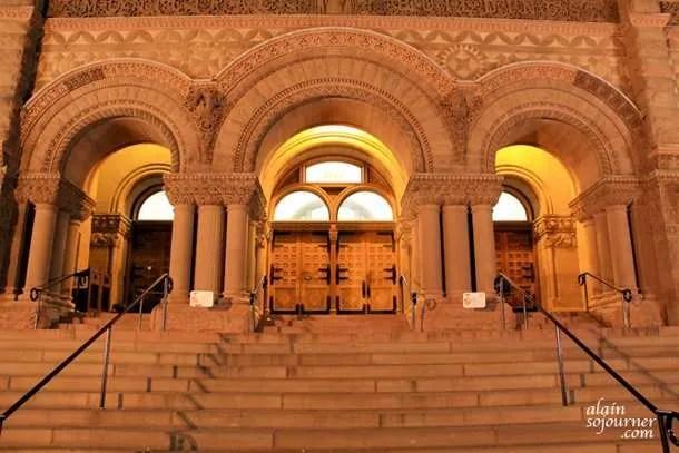 Toronto Old City Hall at Night.