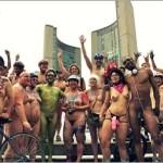 2011 World Naked Bike Ride Toronto