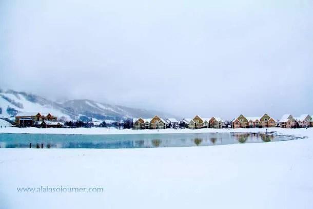 Winter Wonderland in Blue Mountain (Collingwood, Ontario).
