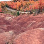 Cheltenham Badlands in Fall