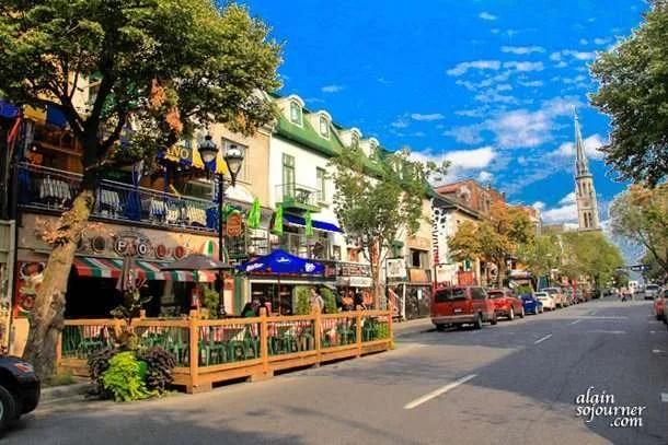 Montreal Latin Quarter
