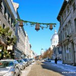 Old Montreal in Winter