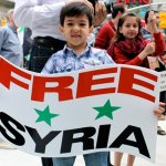 Protest Against the Syrian Government