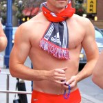 Santa Speedo Run 2010