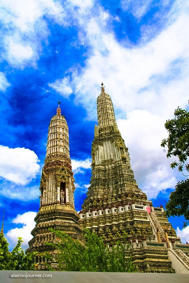 Wat Arun in Bangkok, Thailand. It is also called Temple of Dawn.