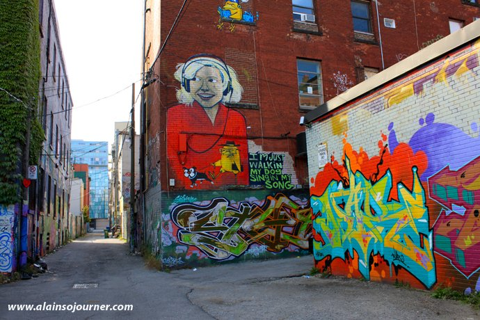 Grafitti Toronto Things To Do in Toronto for Budget Travellers
