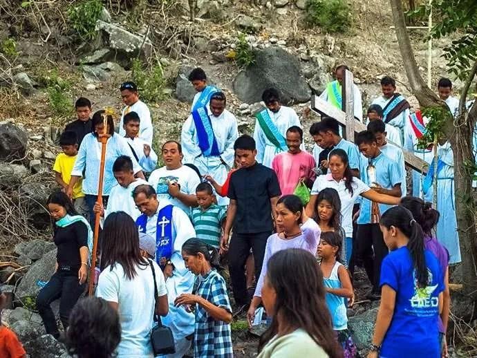 Holy Week Philippines Apo Island 2