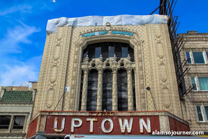 Chicago Film Tour Uptown Theater Things To Do In Chicago