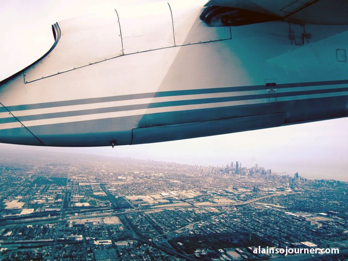 Chicago Skyline Porter Airlines 1