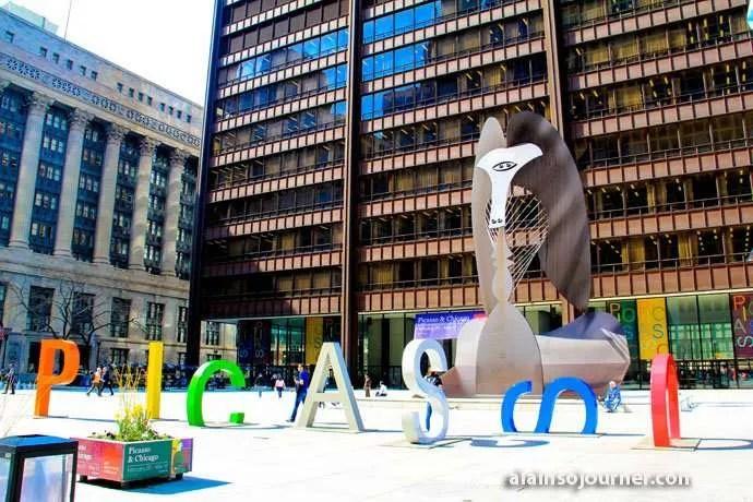 Picasso Public Arts in Chicago