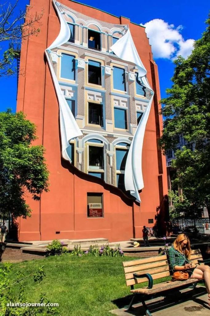 Toronto Public Art Flat Iron Building