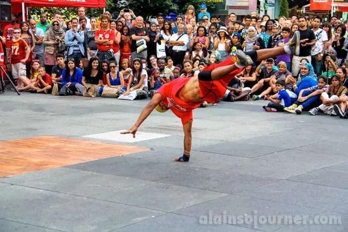 The US Breakdancer