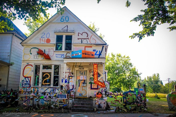 Number House Project Heidelberg Project in Detroit