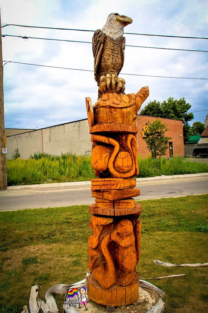London Tree Sculptures Ontario