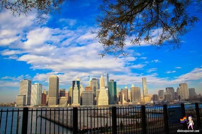 Brooklyn Height Promenade New York City Brooklyn Bridge View