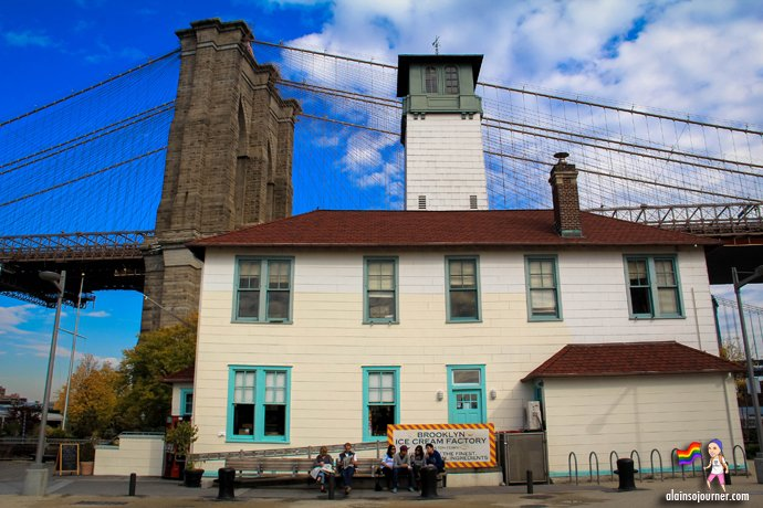 Ice Cream Factory in Brooklyn Bridge