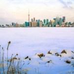 Frozen Toronto Looks Like the Arctic