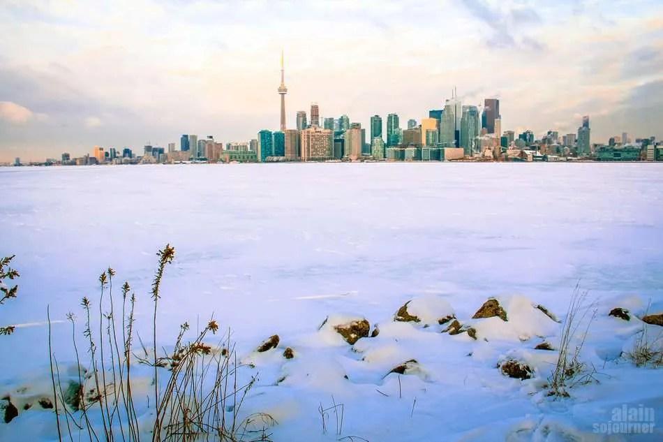 Toronto in Snow