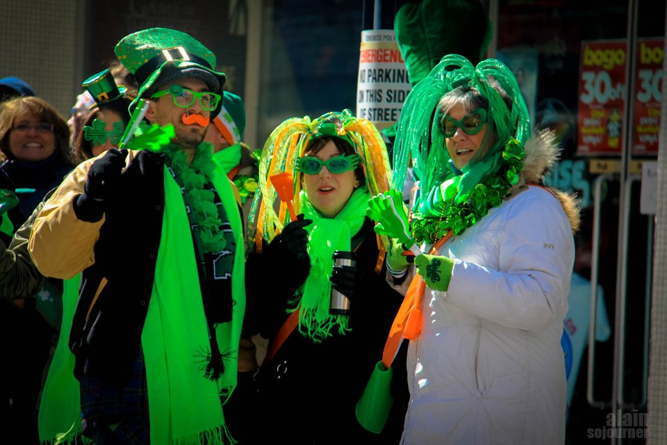 St. Patrick's Parade in Toronto 2014