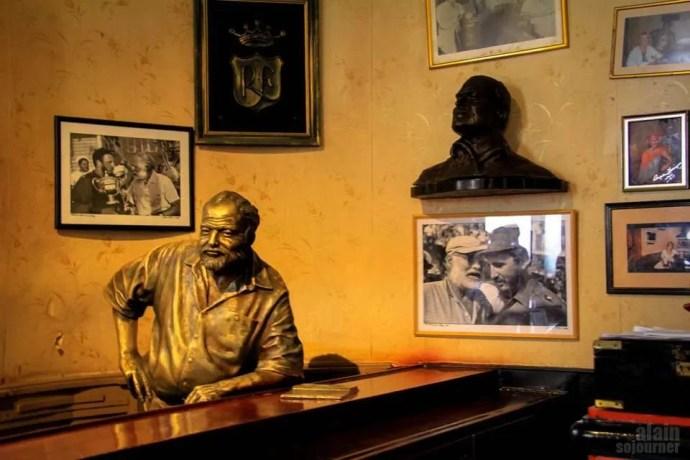 Things to do in Havana El Floridita Hemingway
