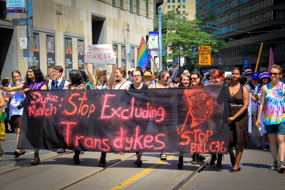 World Pride Dyke March Toronto 2014