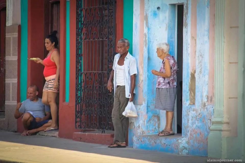Old Men and Women in Cuba