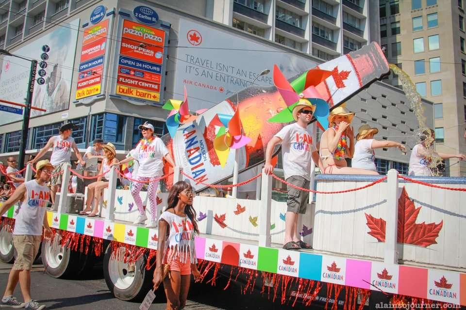WorldPride Parade 2014 Toronto