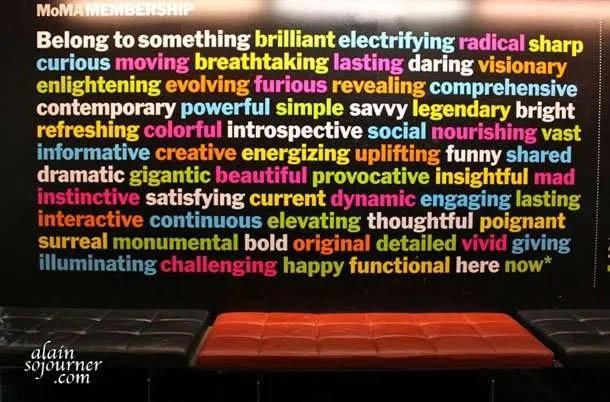 MOMA - Museum of Modern Art in New York City