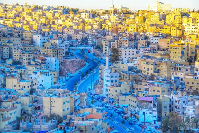 Things to do and see in Jordan: Stroll around Amman.