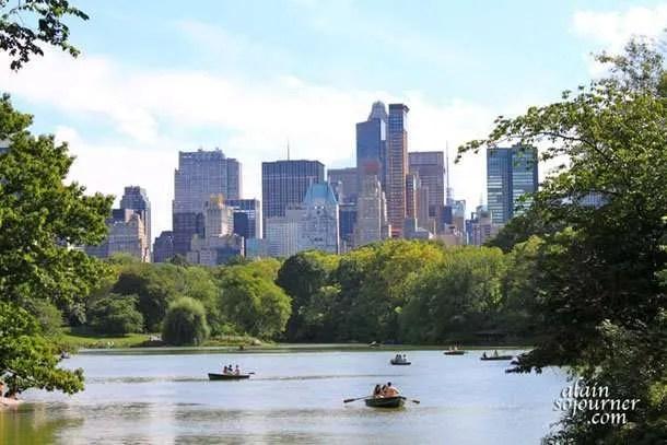 Central Park New York.