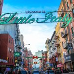 Strolling at Little Italy in New York