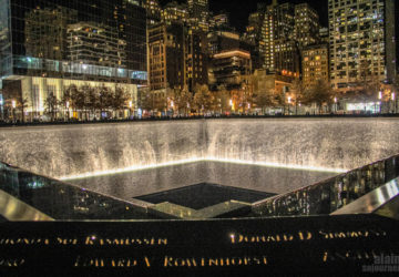911 Site Memorial in New York.