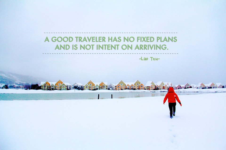 Inspiring Travel Quote from Lao Tzu-