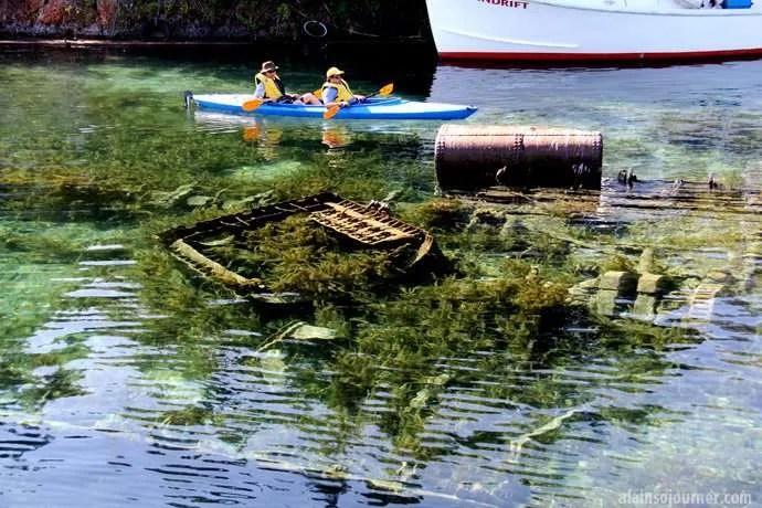 City of Grand Rapids Tobermory Bruce peninsula Shipwrecks