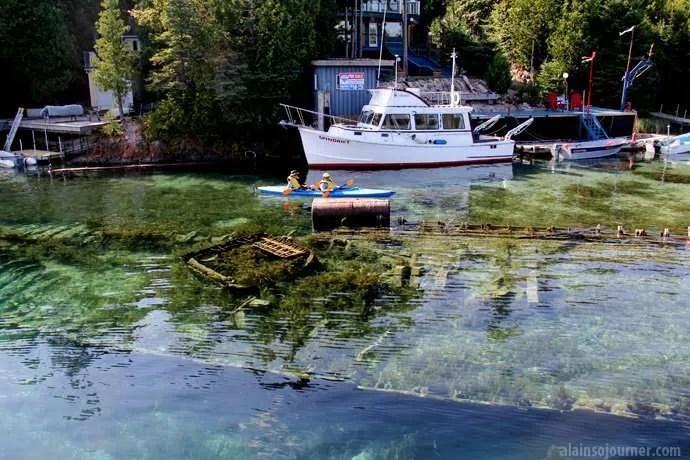 city of grand rapids shipwrecks tobermory