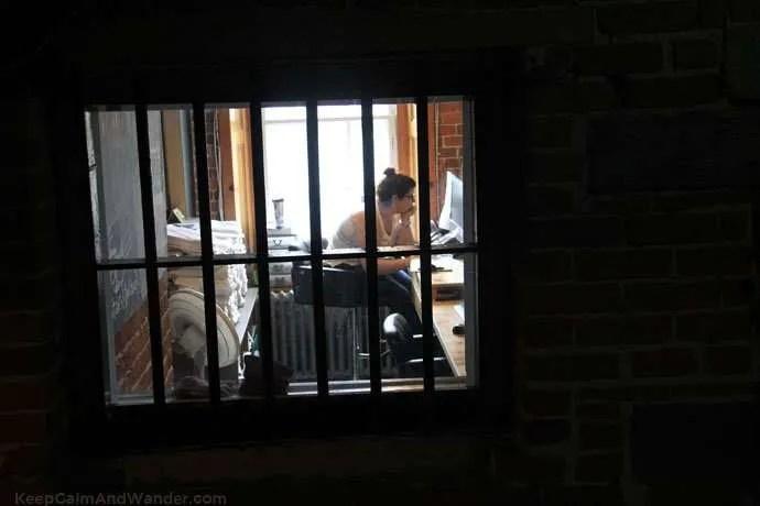 Jail Hostel in Ottawa.