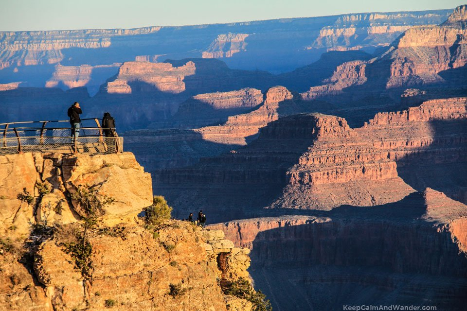 Sunrise at Mather Point, South Rim, Grand Canyon